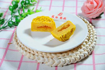 桃果子皮姜黄味月饼