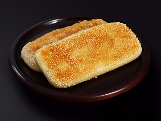 一张来自速冻面食生产厂的葱油饼