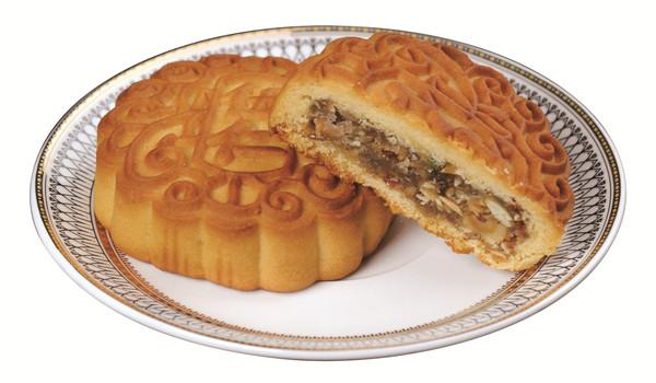 传统鲁味五仁月饼