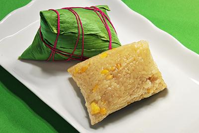 松仁玉米粽