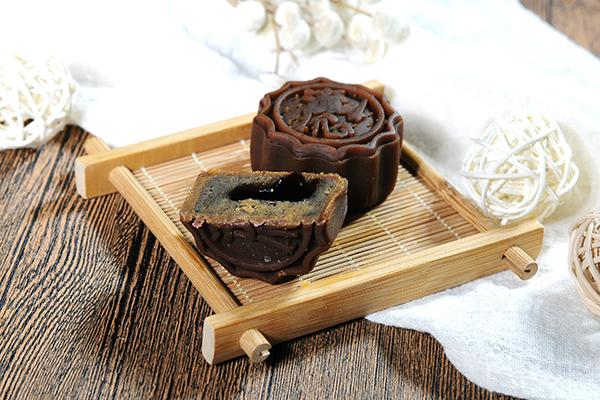 桃山皮咖啡味月饼