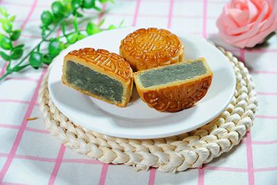 玄米抹茶月饼